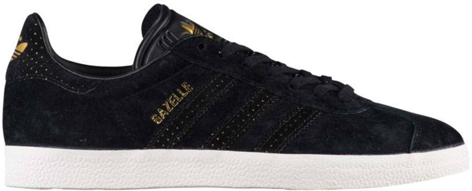 adidas Gazelle Core Black Gold Metallic