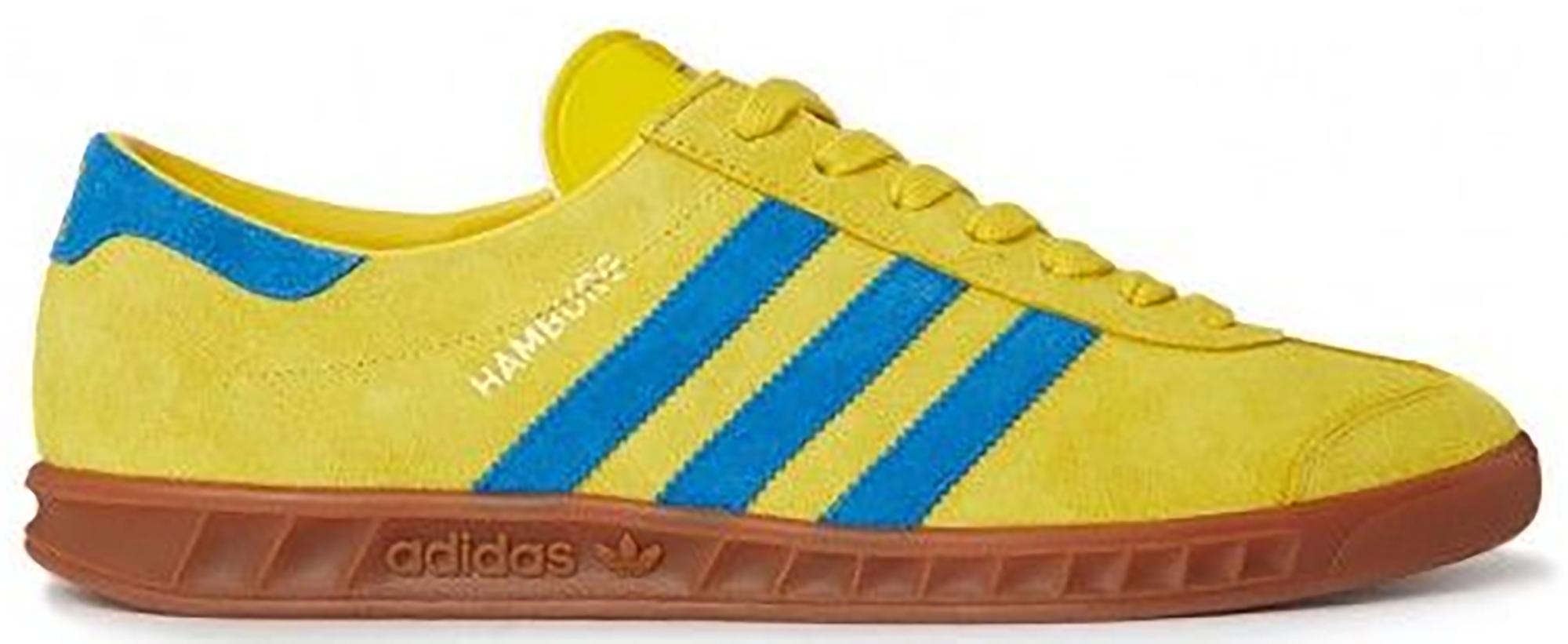 adidas hamburg green and yellow cheap online