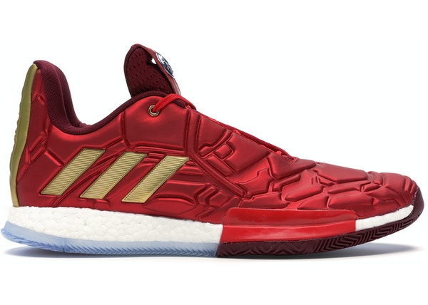nice shoes 51b1e a5175 adidas Harden Vol. 3 Marvel Iron Man - EF2397 EF2524