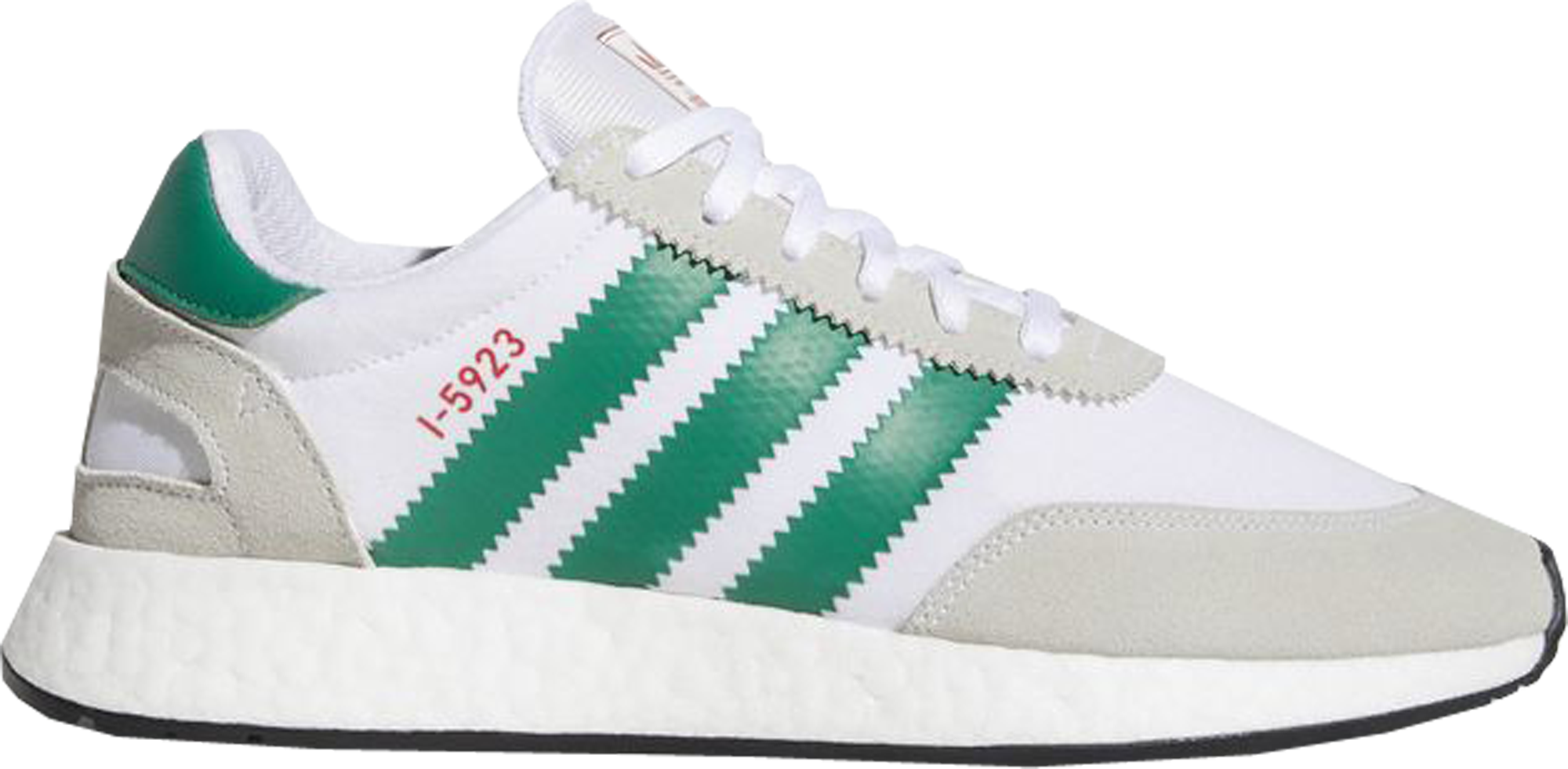 adidas I-5923 Cloud White Bold Green