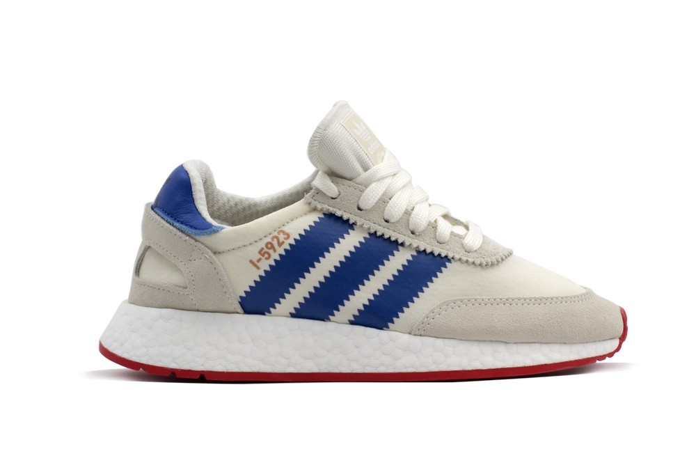 Adidas Iniki Runner Boost I-5923 Burdungy Grey White Red Sz 8.5