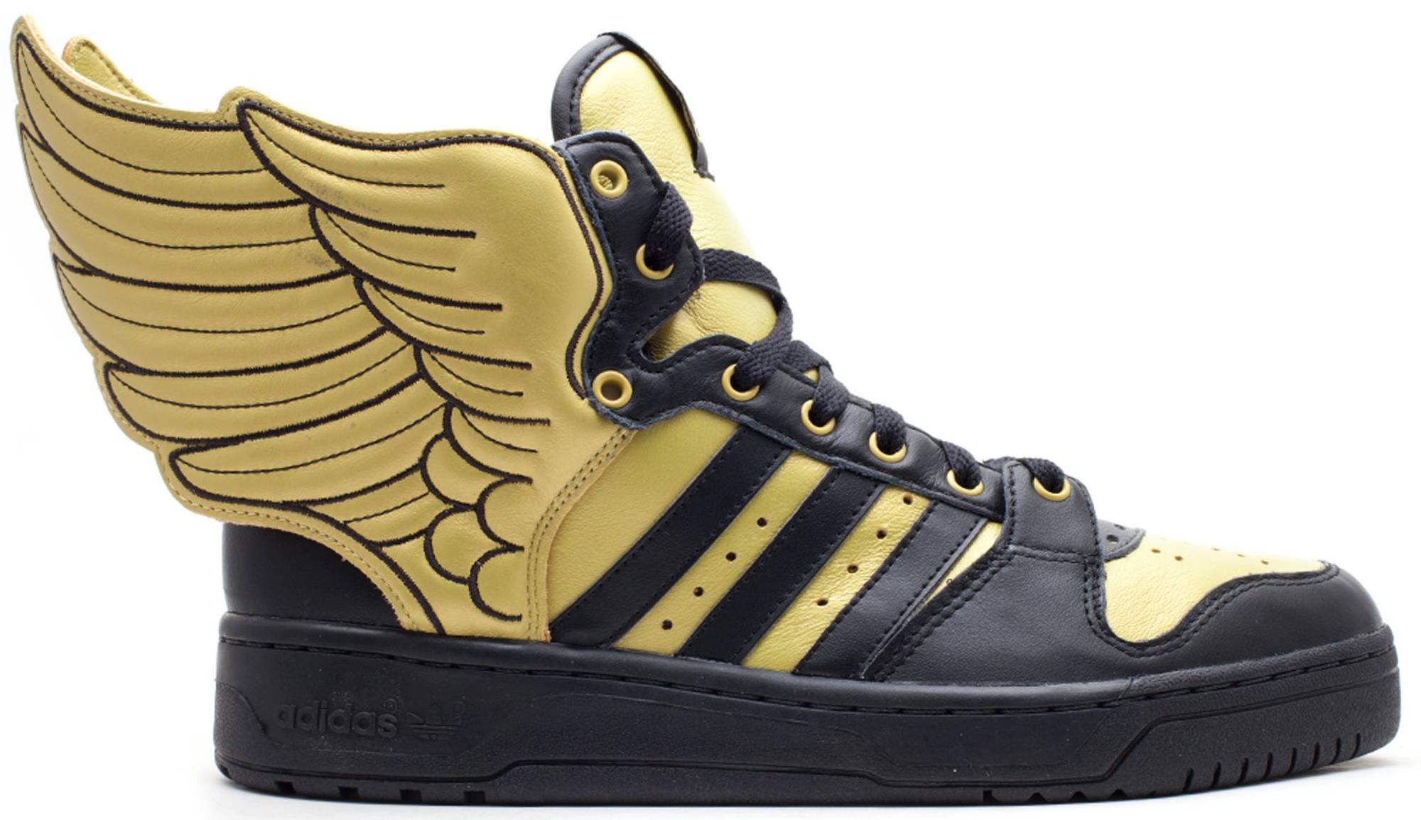 adidas JS Wings 2.0 Black Gold - G44824