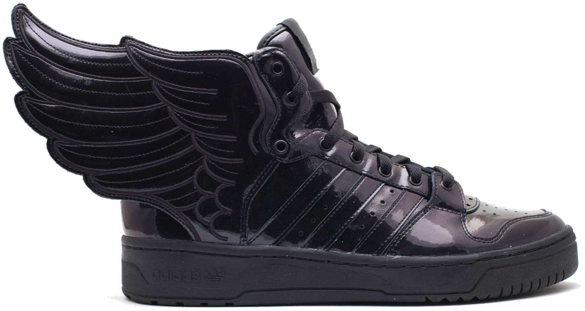 adidas JS Wings 2.0 Black Patent - Q23668