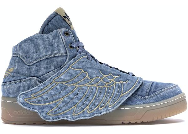 przystojny Nowy Jork moda adidas JS Wings Jeremy Scott Denim - V24621