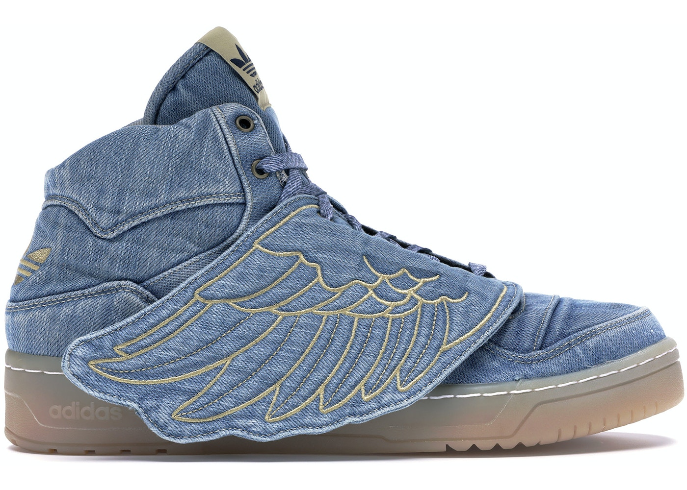 new styles 665fc 05799 adidas JS Wings Jeremy Scott Denim - V24621