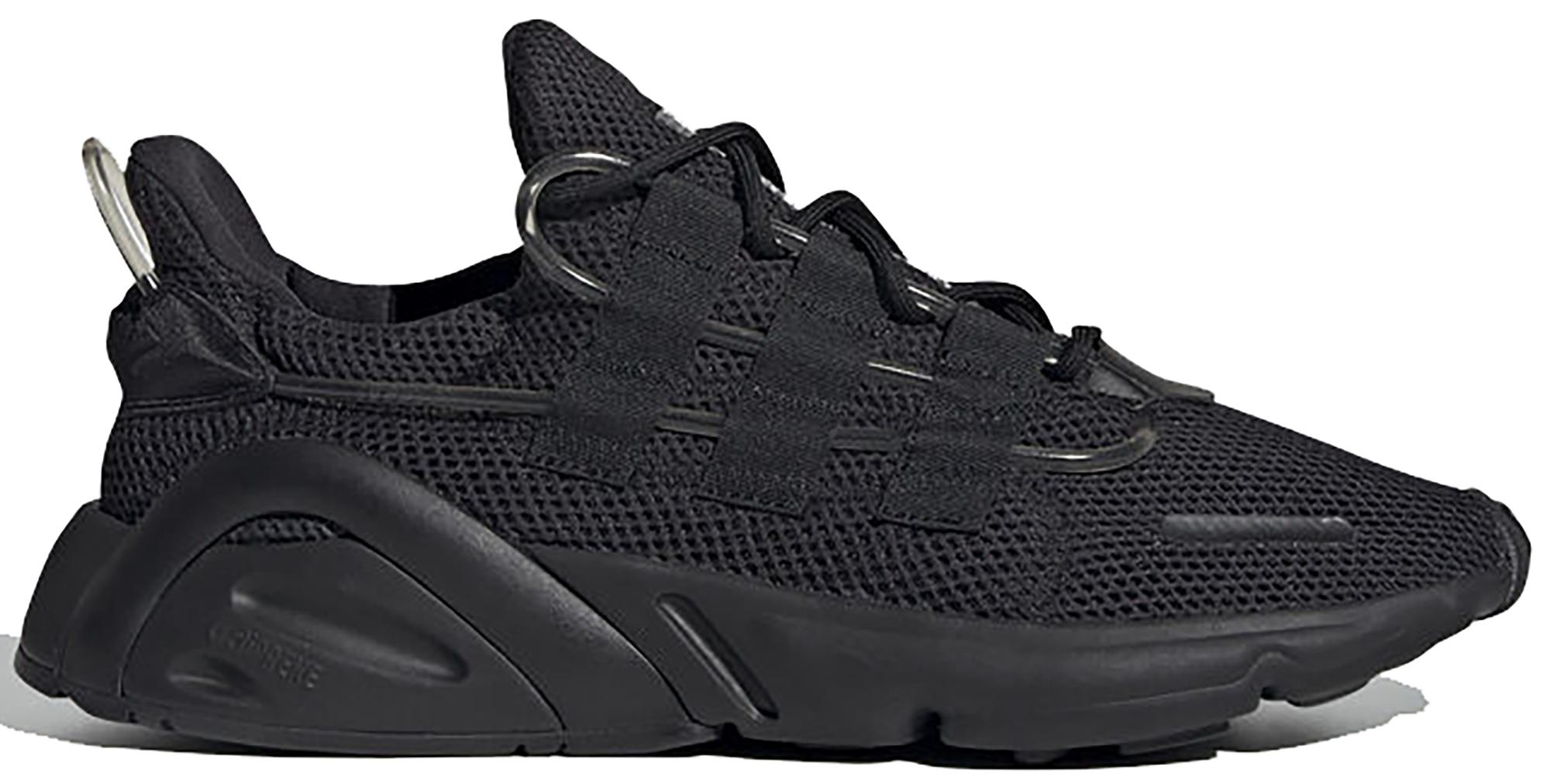 adidas originals lxcon adiprene trainers in triple black