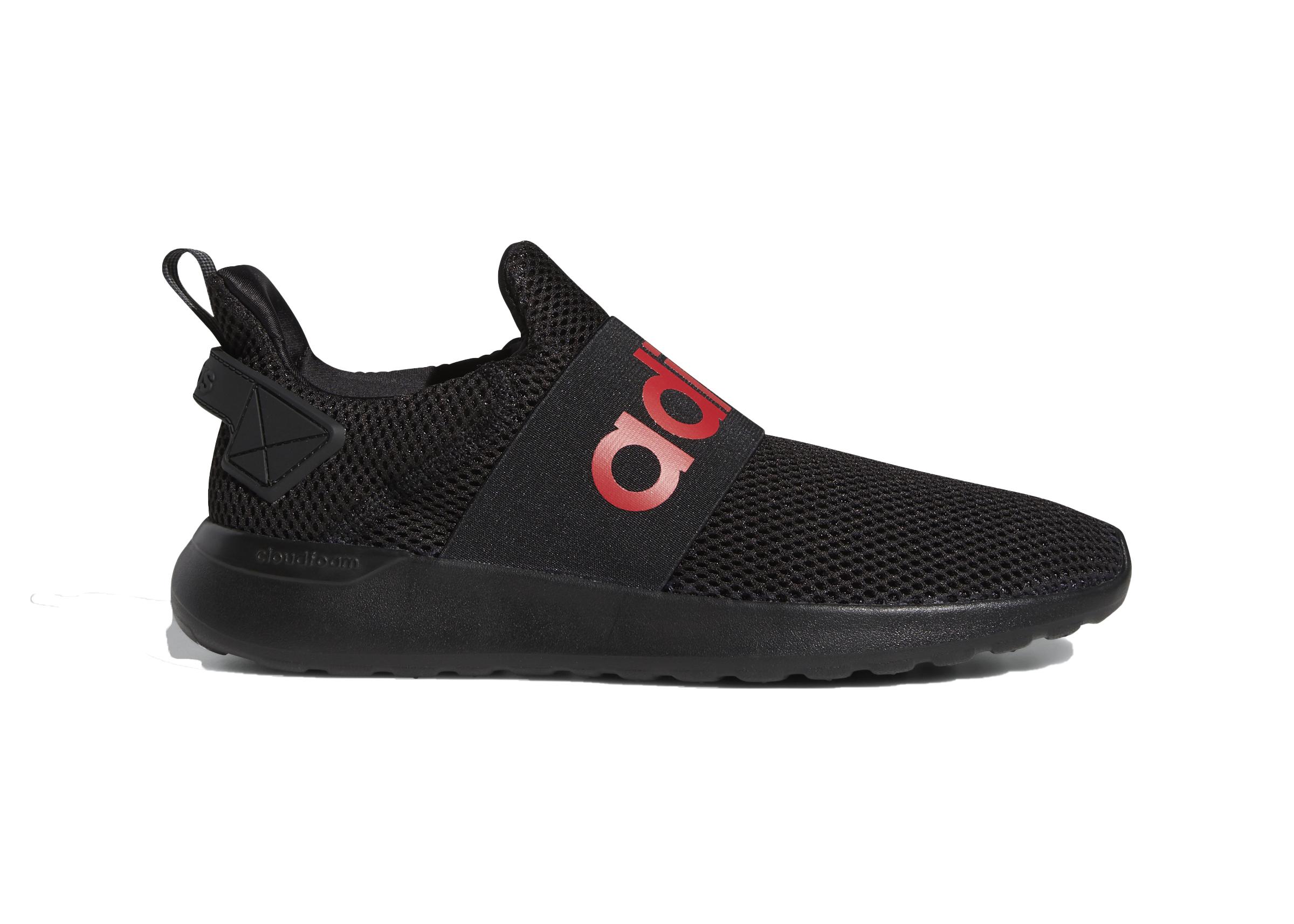 adidas lite racer adapt all black