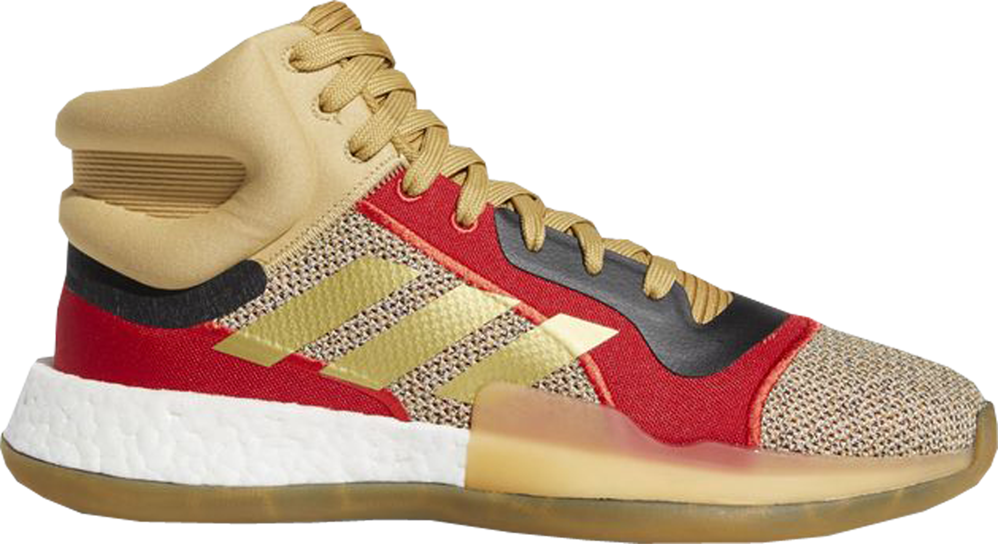 adidas Marquee Boost Gold Black Red