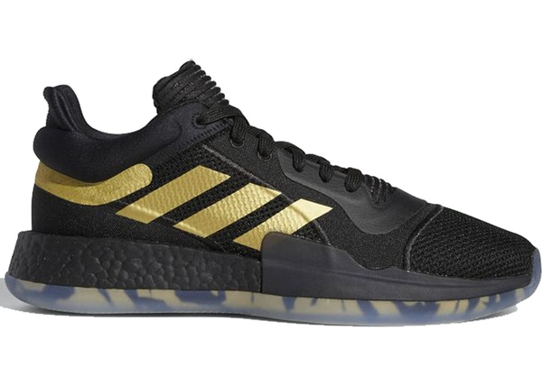 adidas Marquee Boost Low Black Gold - EE8572 f09e608ca1b9