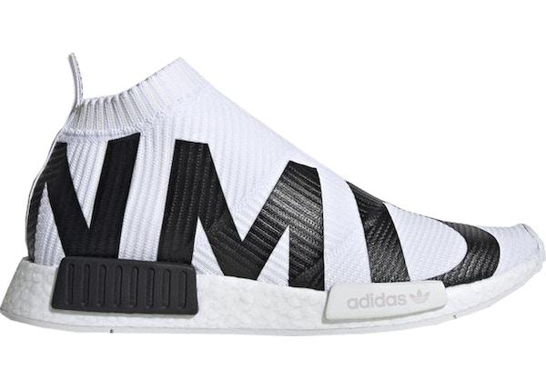 e3b4935e7 adidas NMD CS1 Bold Branding White Black