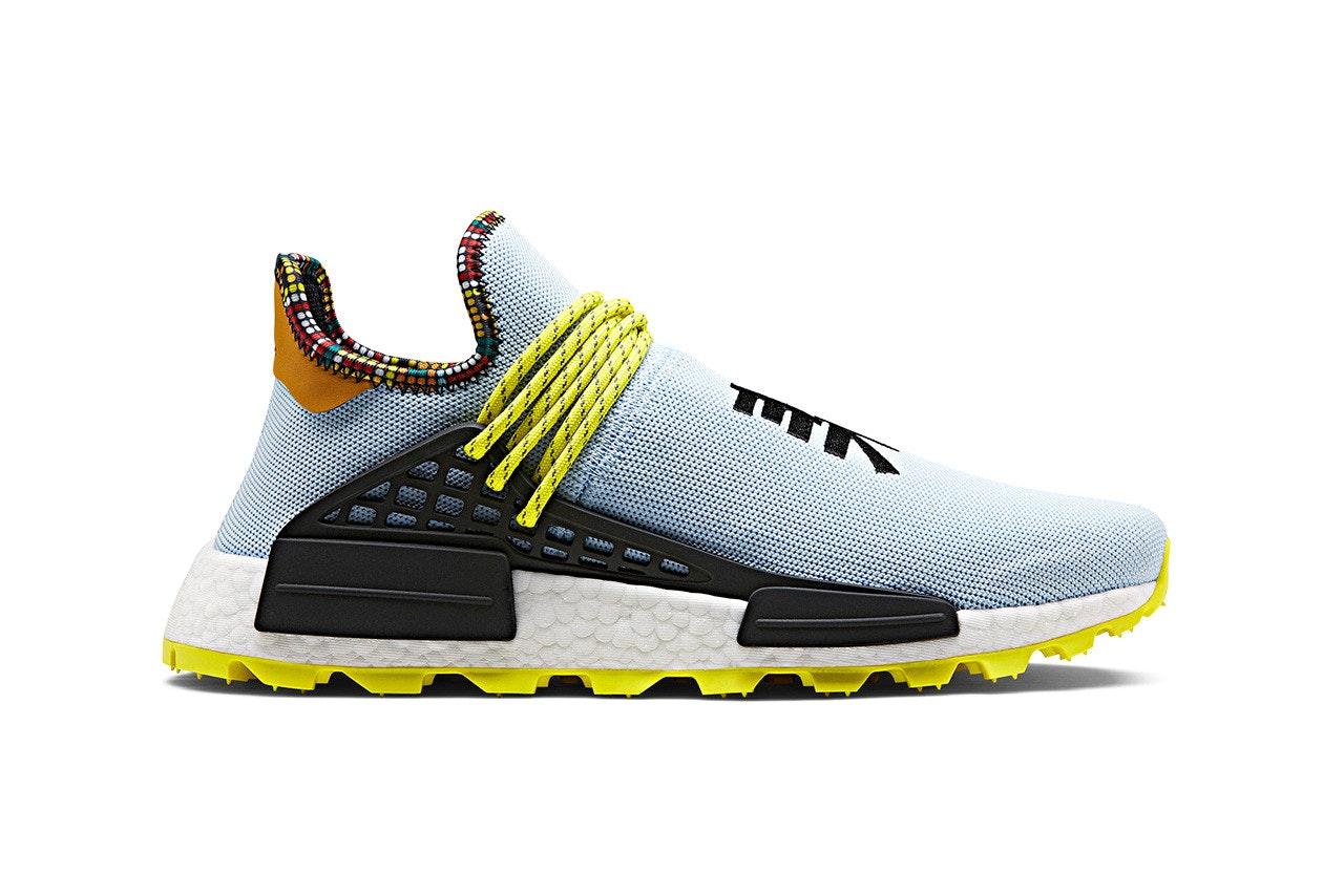 adidas NMD Hu Pharrell Inspiration Pack Clear Sky