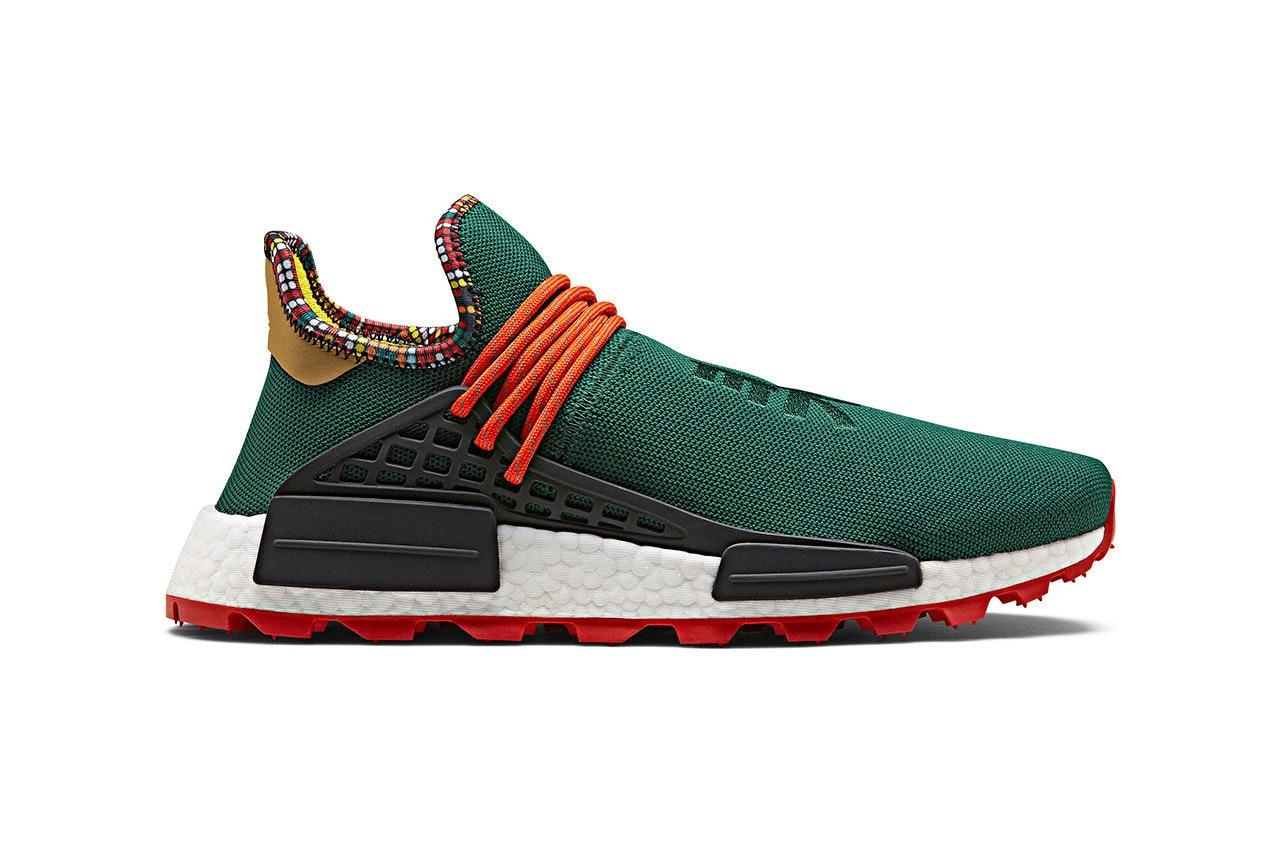 adidas NMD Hu Pharrell Inspiration Pack Green