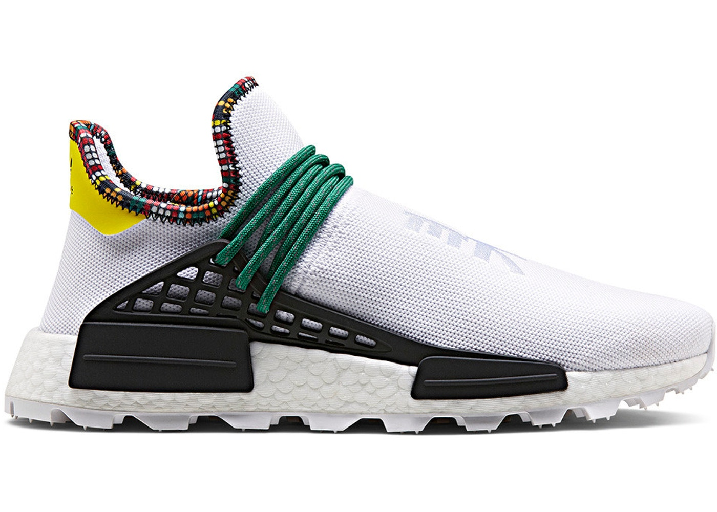 best website d8f60 ba017 adidas NMD Hu Pharrell Inspiration Pack White • StockX