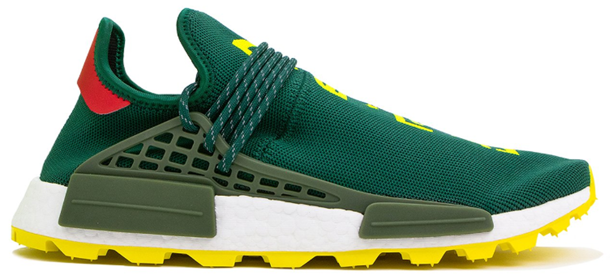 adidas NMD Hu Pharrell NERD Green Yellow