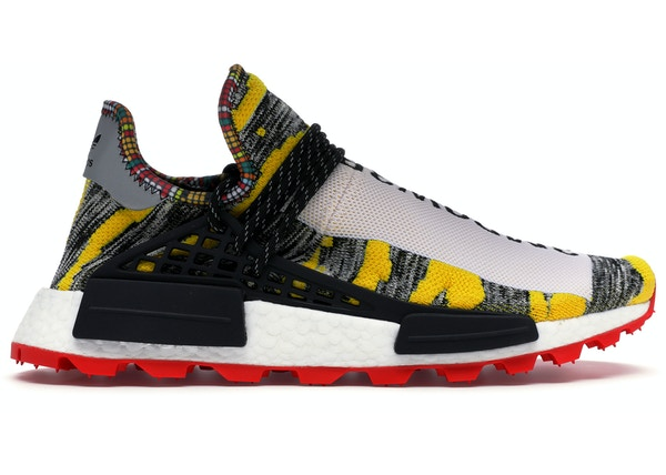 new concept 43dea 484a0 adidas NMD Hu Pharrell Solar Pack Red