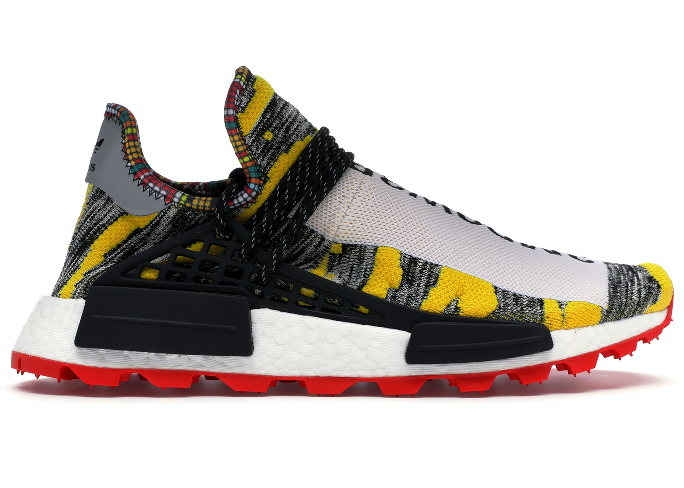 new concept 8723f 60355 adidas NMD Hu Pharrell Solar Pack Red