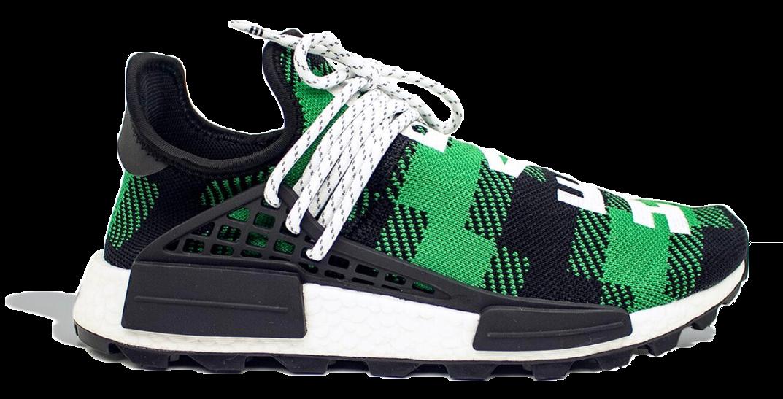adidas NMD Hu Pharrell x BBC Green Plaid