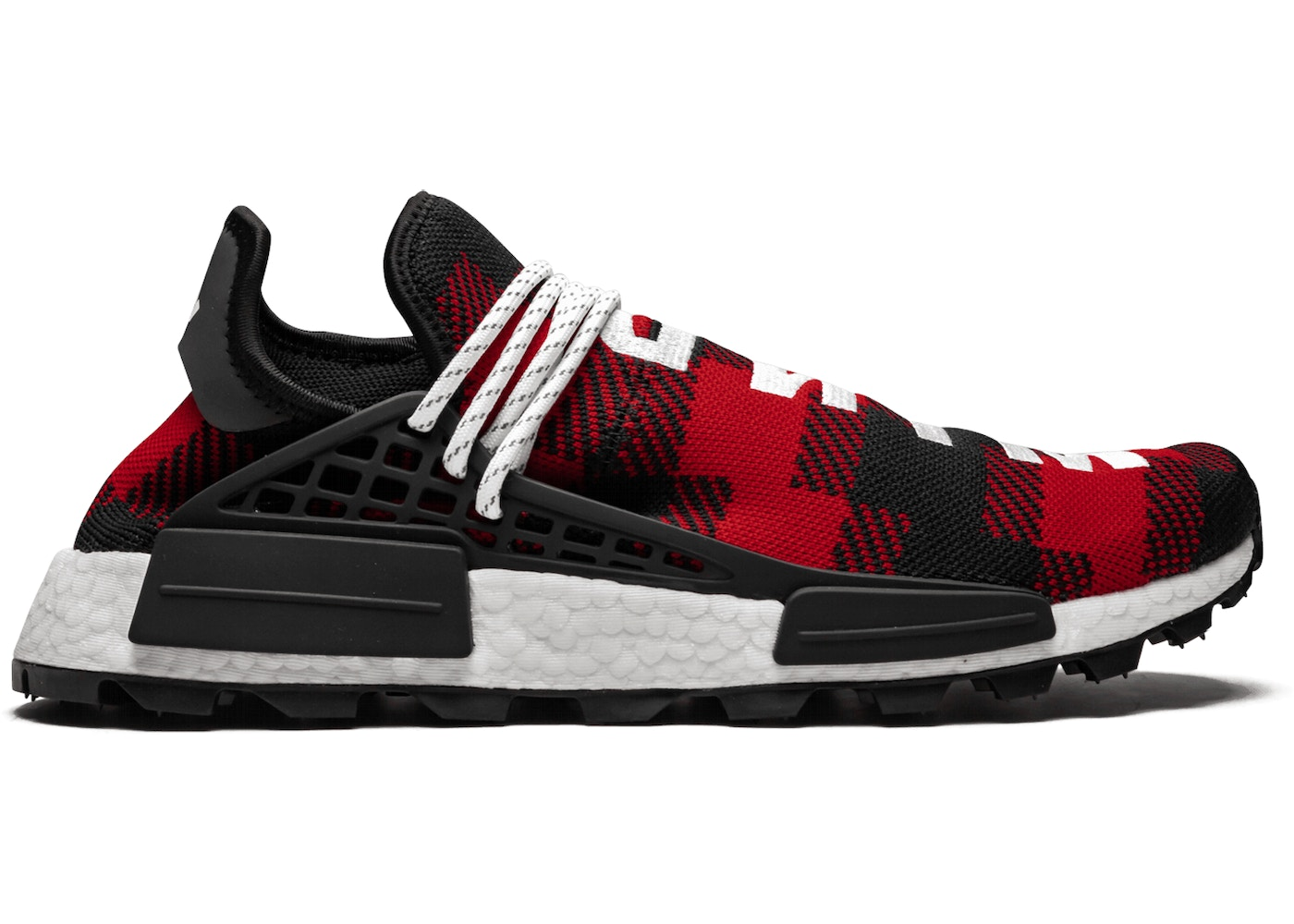 Pharrell Adidas NMD Hu X BBC Releasing In Plaid Colors This