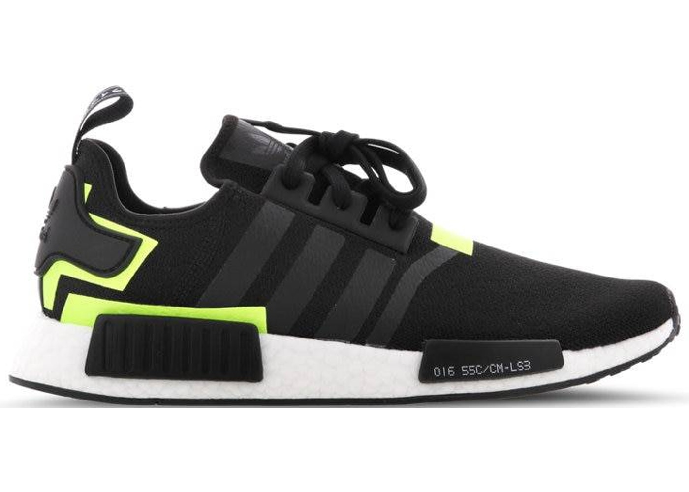 the best attitude 7f82a ba7b7 adidas NMD R1 Black Volt