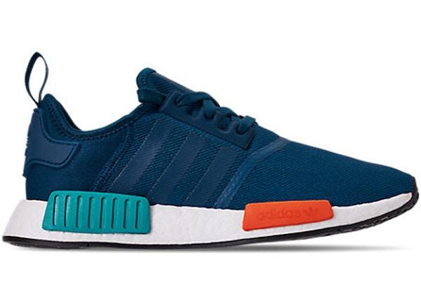 adidas nmd r1 schwarz rot blau