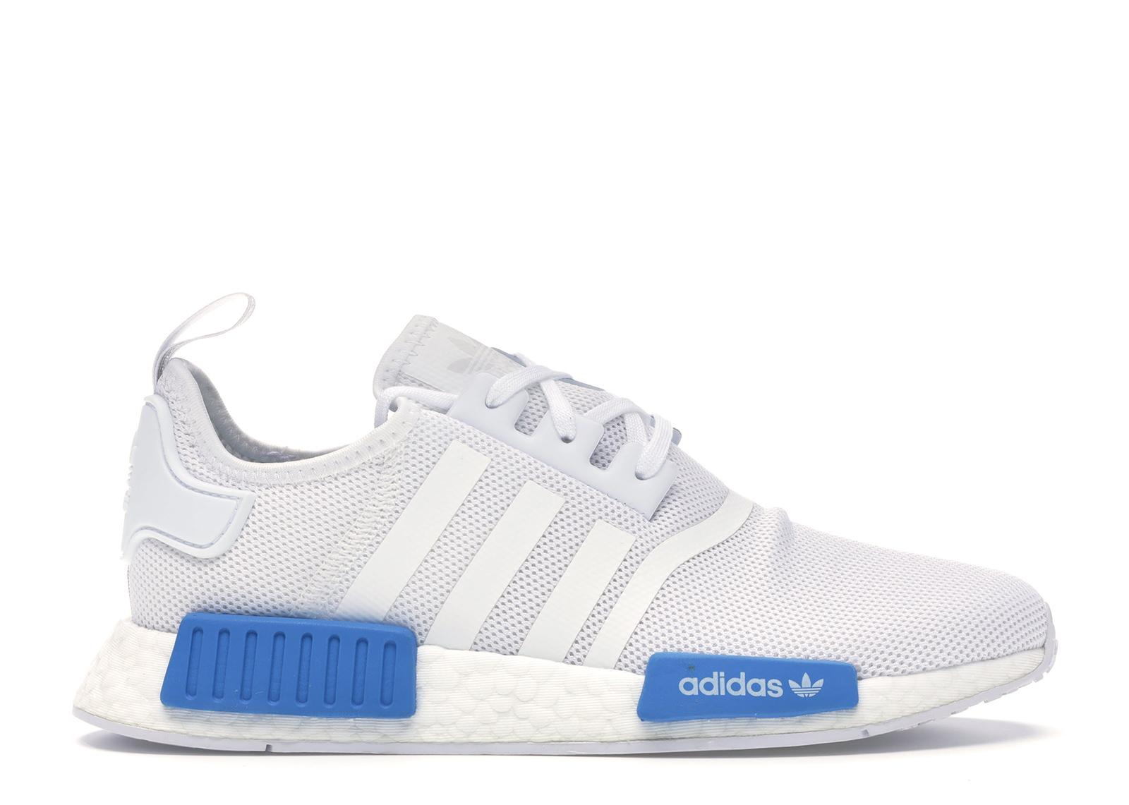 adidas NMD R1 Cloud White Bright Blue