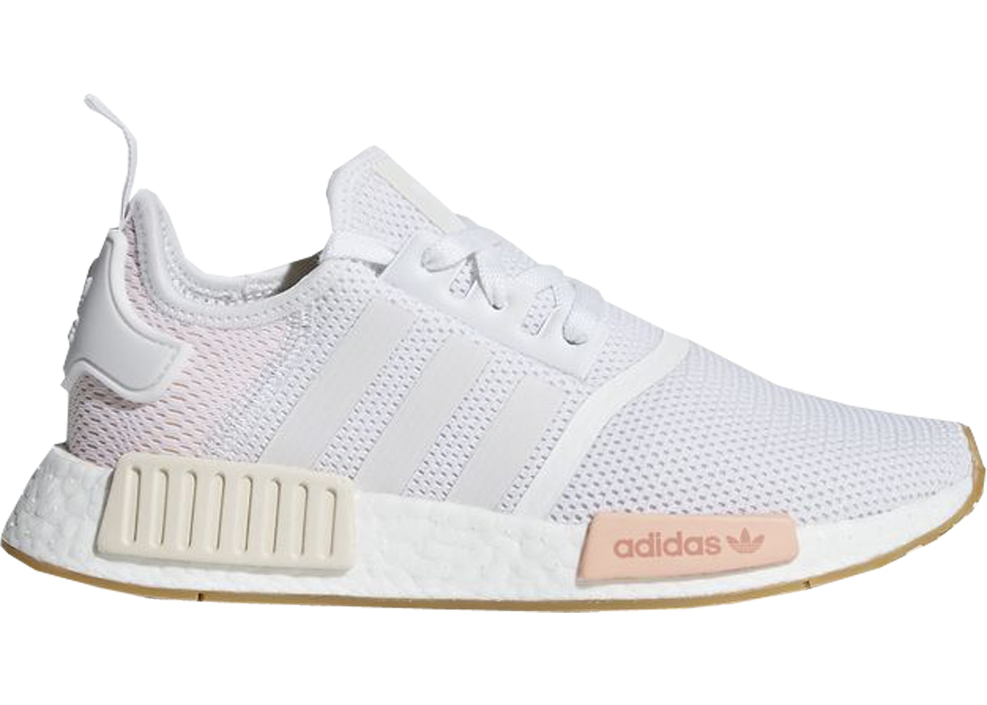 size 40 8e938 cb619 adidas NMD R1 Cloud White Clear Orange (W)