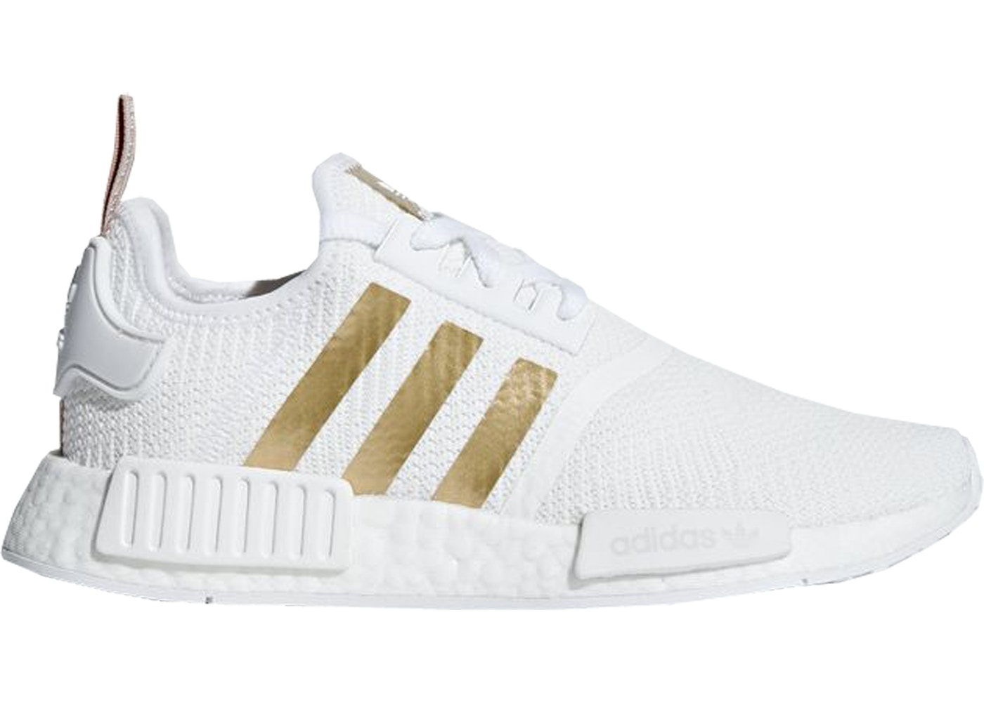 d766ef96c98e5 adidas NMD R1 Cloud White Copper Metallic (W) - B37650