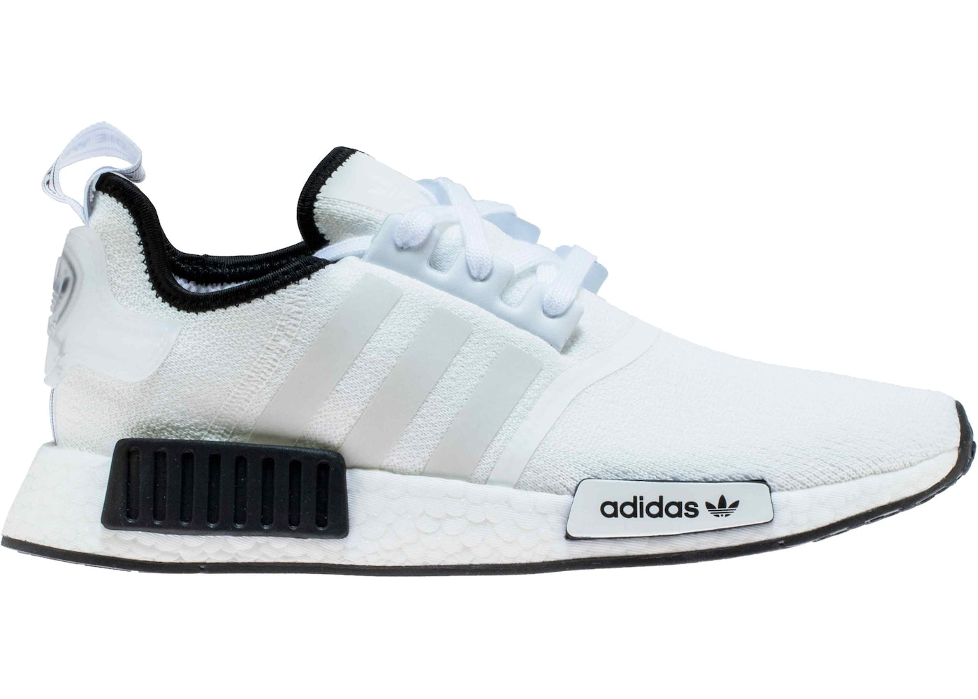lowest price eb2d0 1fb41 adidas NMD R1 Cloud White Core Black