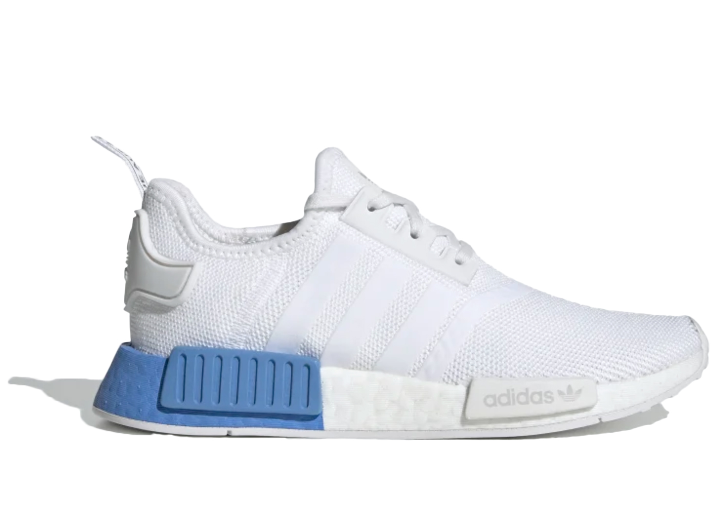 adidas NMD R1 Cloud White Real Blue (GS