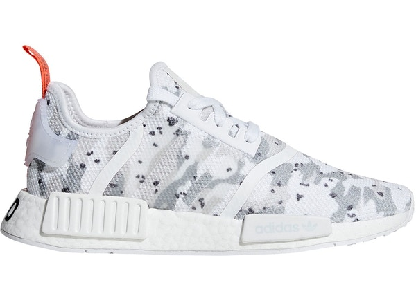 54fd89fbf193c adidas NMD R1 Cloud White Solar Red (W)
