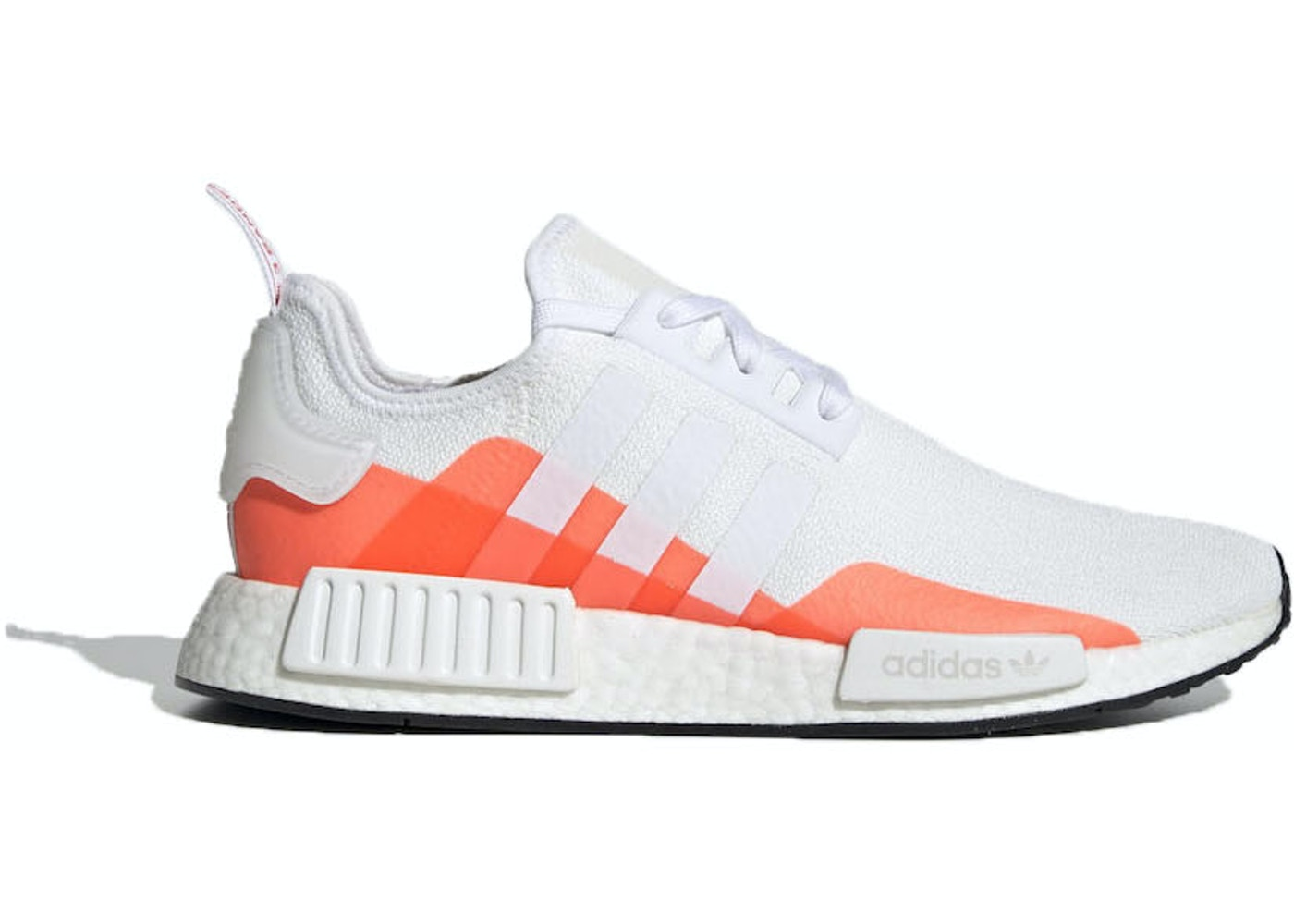 Adidas Nmd R1 Cloud White Solar Red Ee5083
