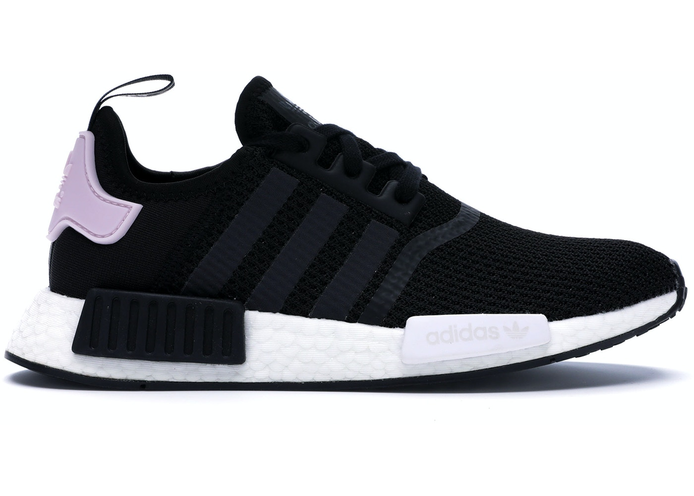 adidas NMD R1 Core Black Clear Pink (W) - B37649 9885de0f2