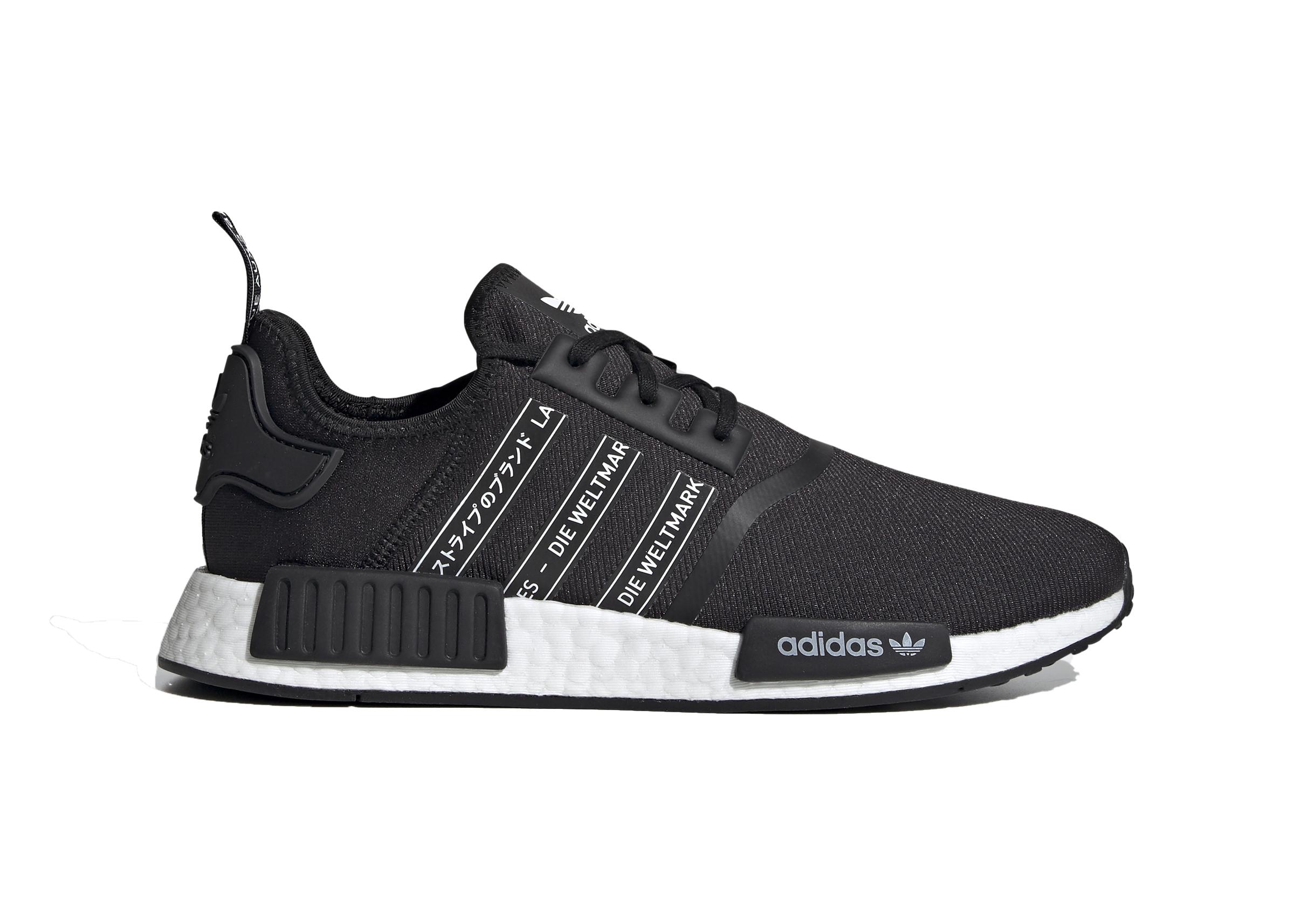 adidas nmd_r1 shoes black