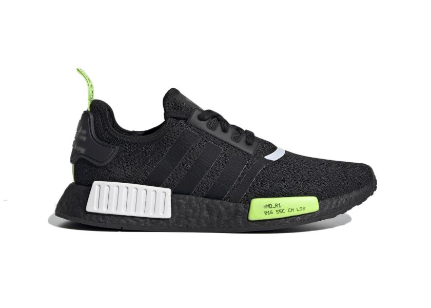 adidas NMD_R1 Core Black Signal Green