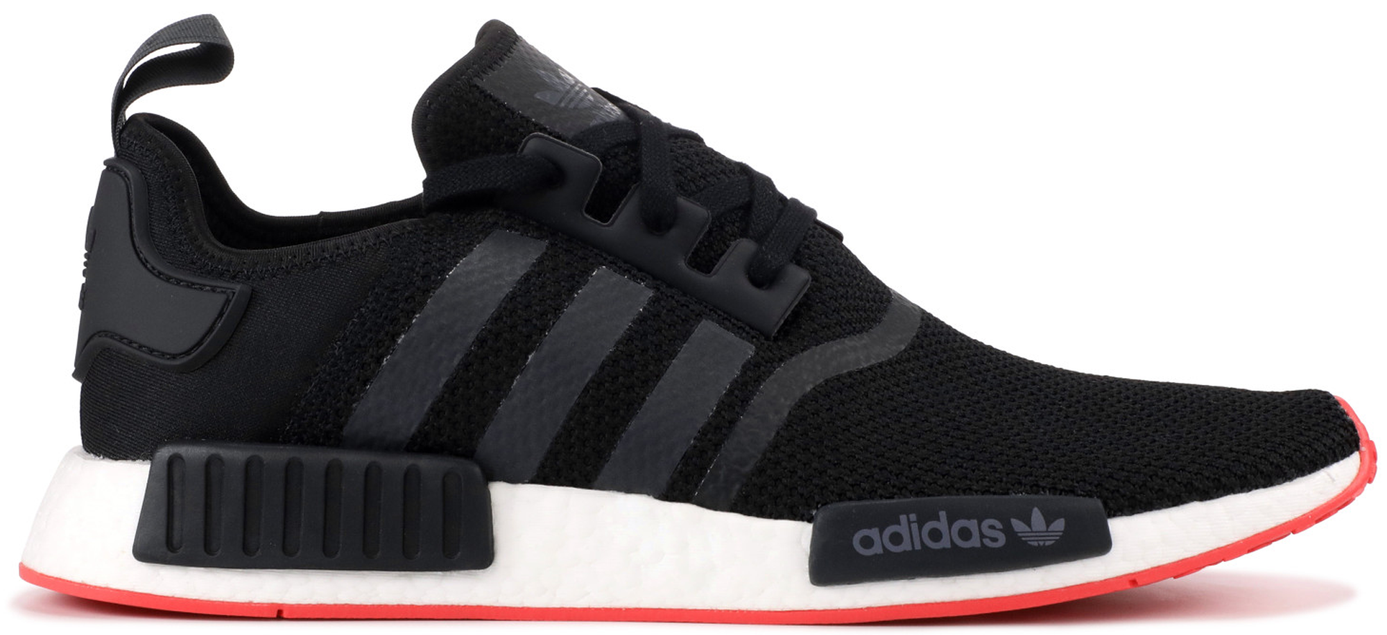 adidas NMD R1 Core Black Trace Scarlet