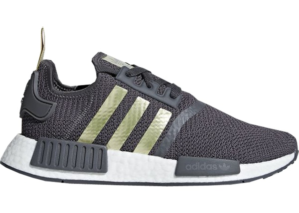 adidas NMD R1 Grey Five Gold Metallic (W)
