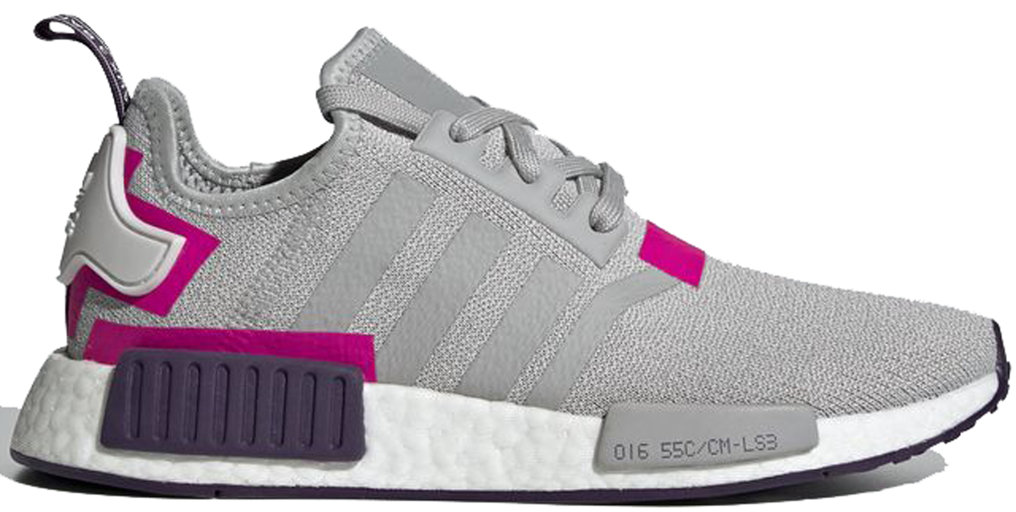 adidas NMD R1 Grey Two Shock Pink (W)