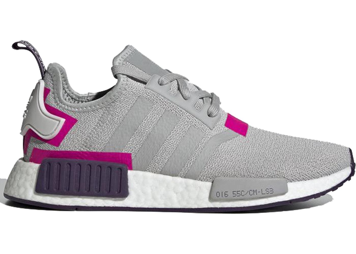 adidas NMD R1 Grey Two Shock Pink (W) - BD8006 8cc603c24