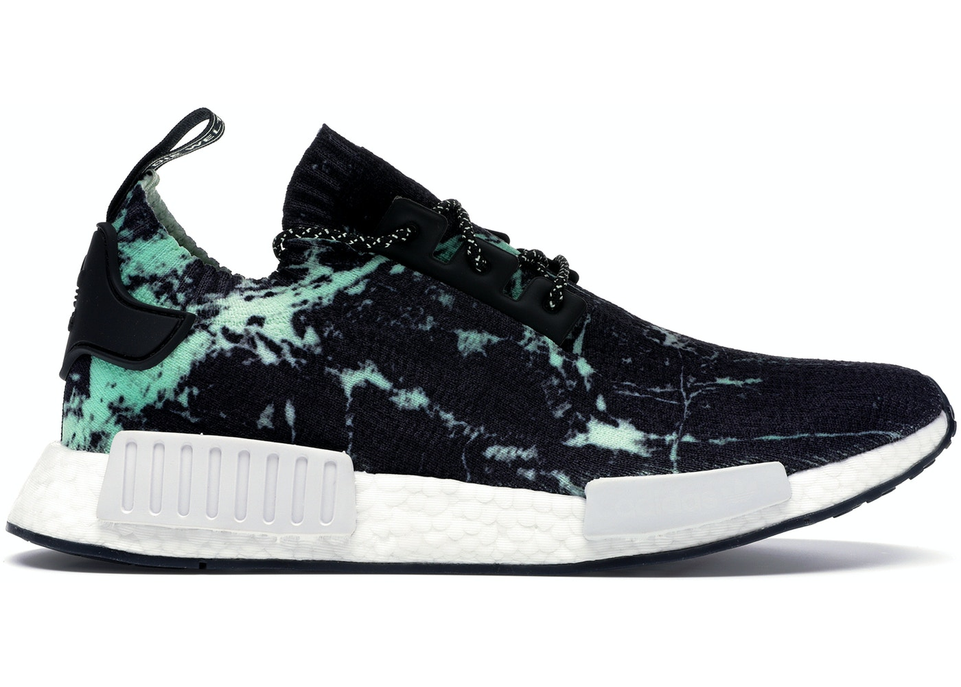 best sneakers 47ccb b6394 adidas NMD R1 Marble Aero Green