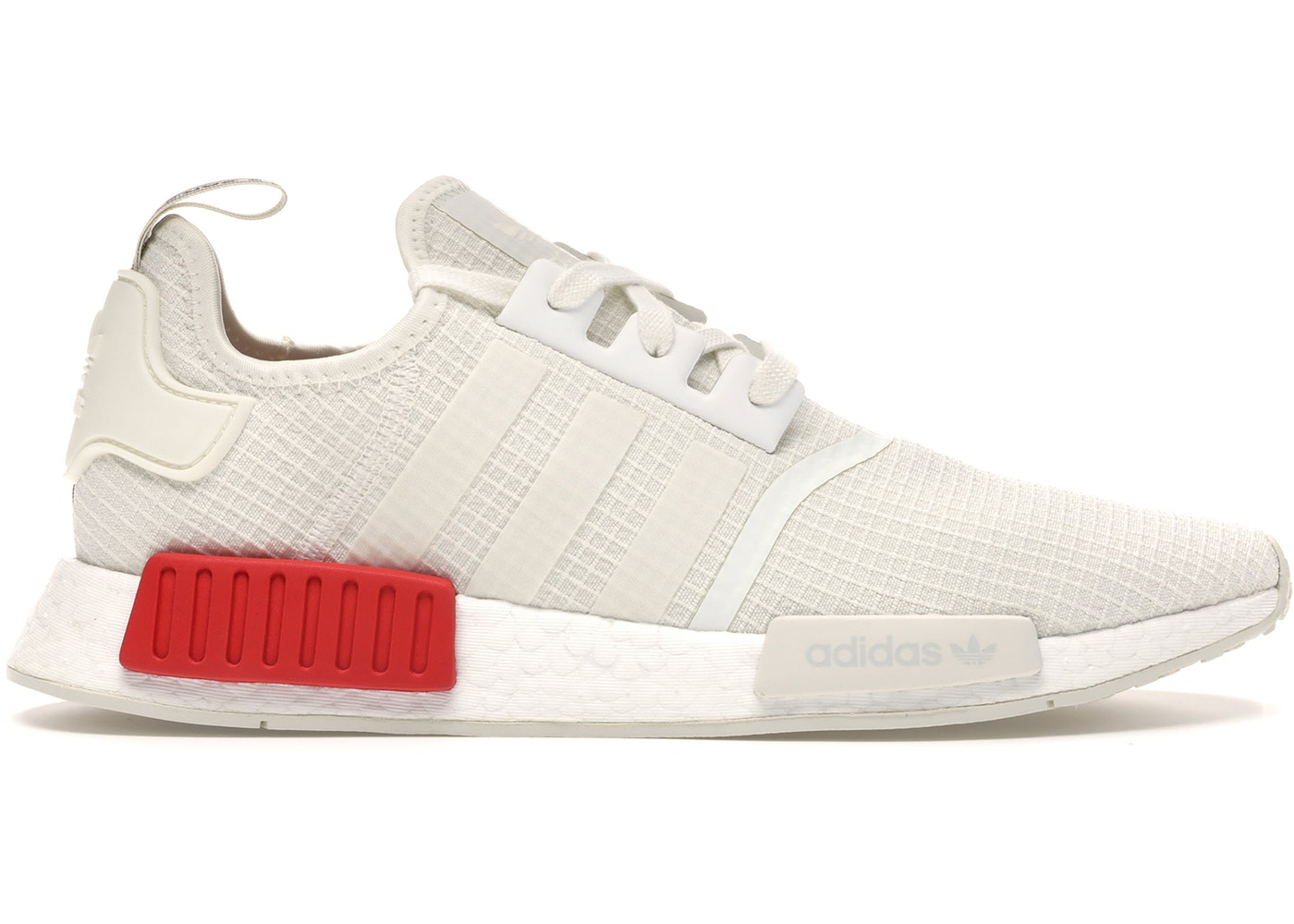 unique design look out for no sale tax adidas NMD R1 Off White Lush Red