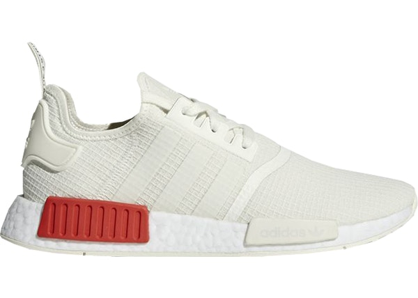 1b6e4403b601d adidas NMD R1 Off White Lush Red - B37619