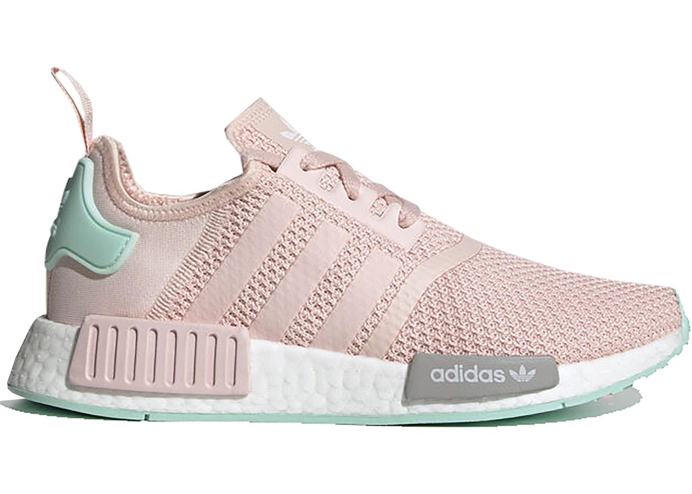 Adidas Nmd R1 Pink Grey Mint W Fx7198