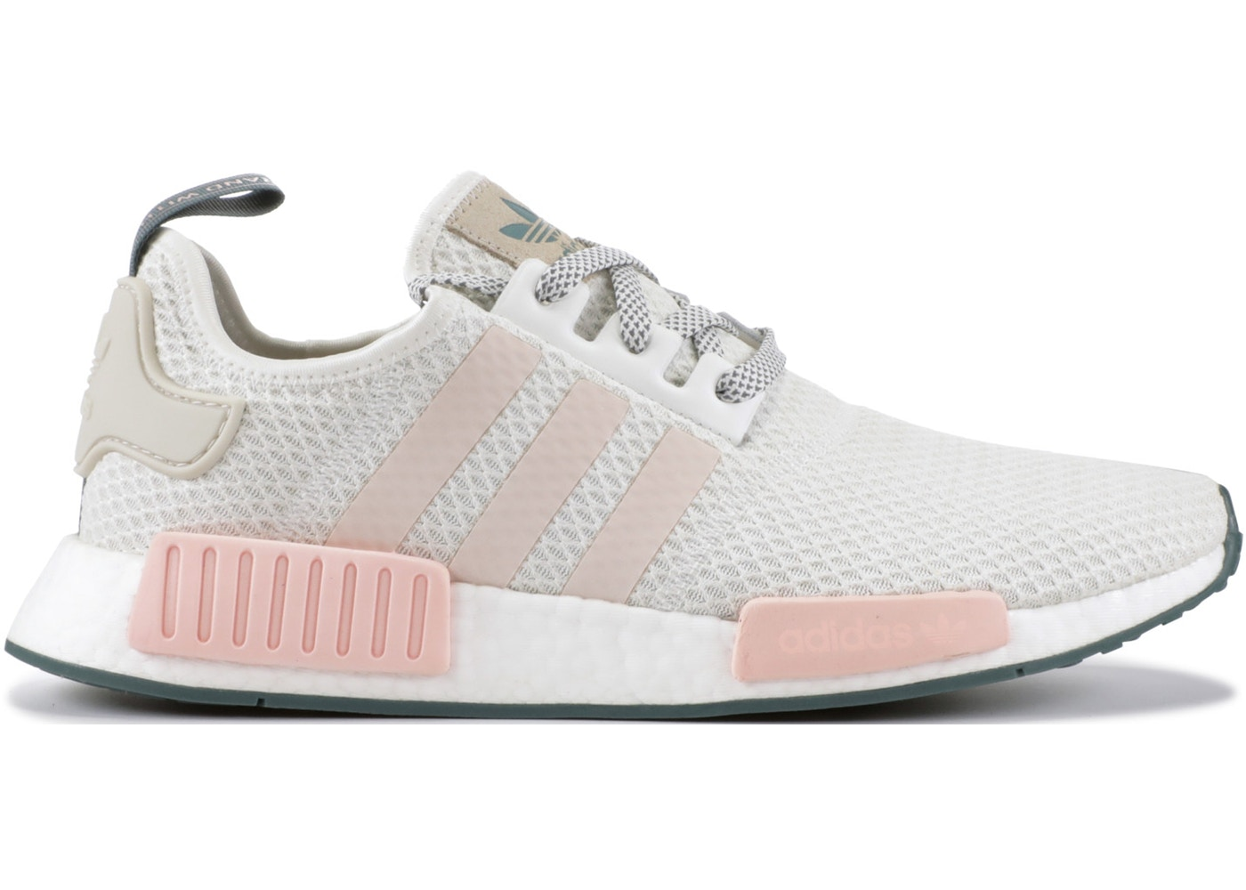 Adidas Nmd R1 Running White Icey Pink W D97232