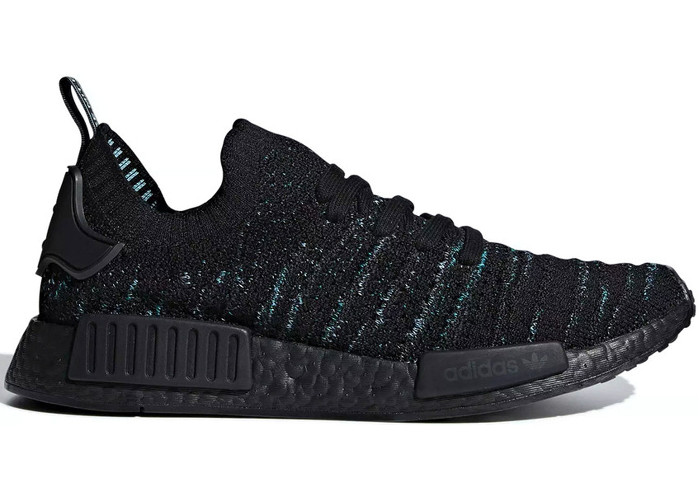 new product 87472 f8f76 adidas NMD R1 STLT Parley Core Black