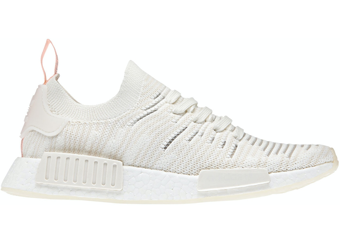 Adidas Nmd R1 Stlt Running White Clear Orange W B37655