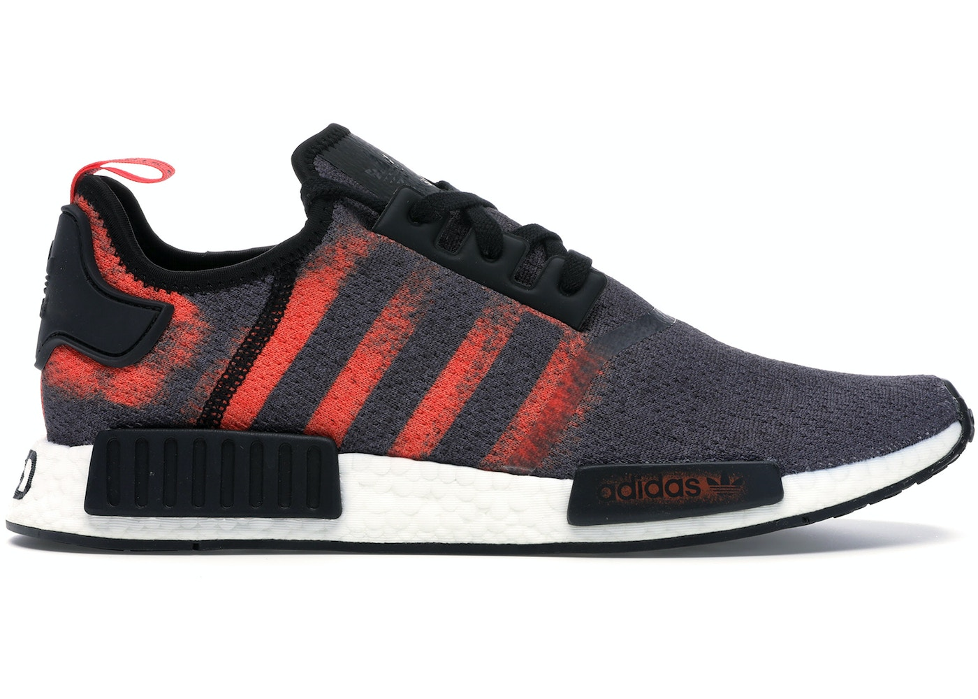 nmd r1 v2 black solar red