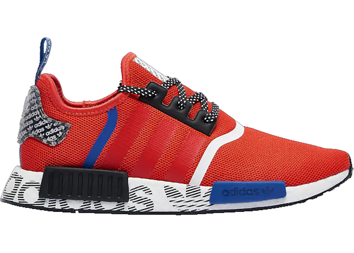 adidas nmd r1 active red