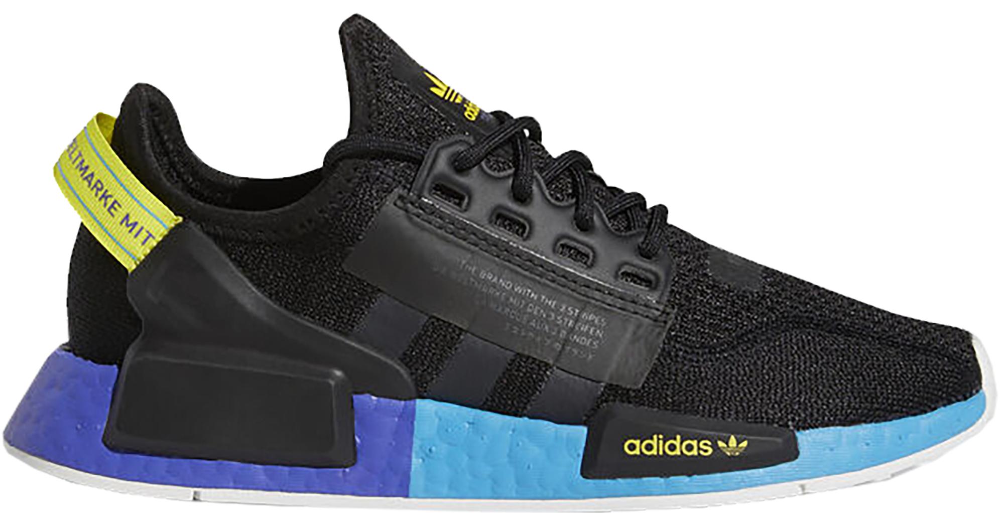adidas NMD R1 V2 Black Carbon Shock