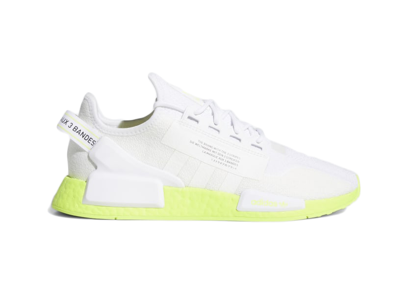 adidas NMD_R1 V2 Cloud White Neon - FX3903