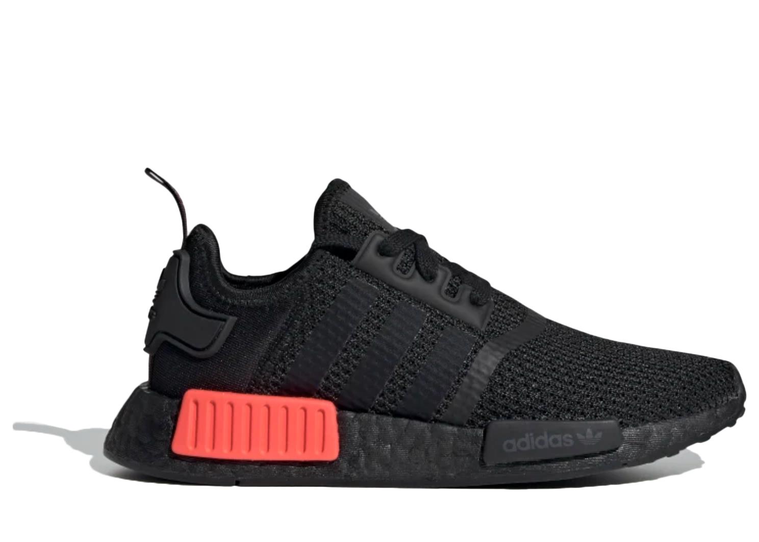 adidas nmd grey solar red